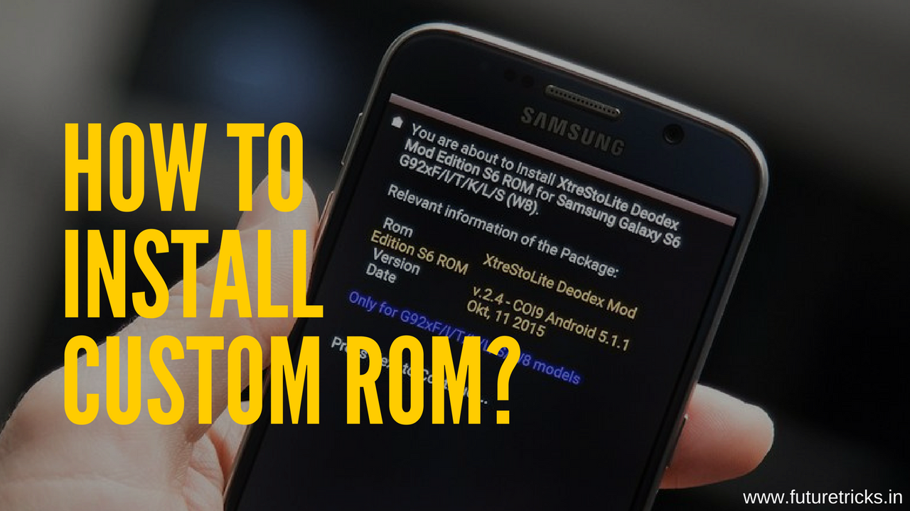Android Phone Me Custom ROM Install Kaise Kare