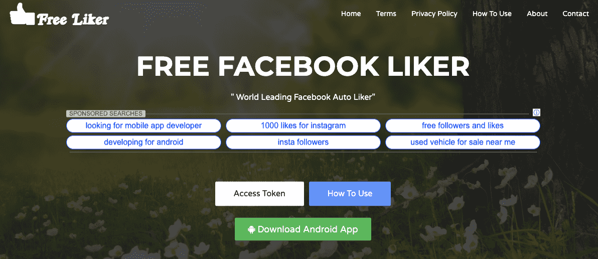 download facebook auto likes